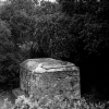 The tomb at Les Pontils, said to be the one depicted in Nicolas Poussin's The Shepherds of Arcadia