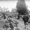 The Rennes-le-Château cemetery as it used to be before the hype hit the fan