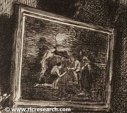 Death of Poussin (detail)