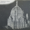 Model of the Monastery of Prouille. The dome was never finished.
