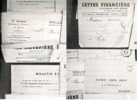 Some of Saunière's bank statements