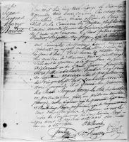 Birth Certificate Henri Boudet