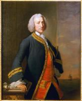 Commodore George Anson 1st Baron Anson (1697-1762)