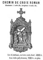 Brochure of Saunière's supplier Giscard