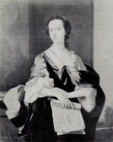 Portrait of Lady Anson by Thomas Hudson