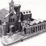 Wooden model of the Monastery of Carol by de Molinier
