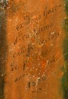 detail: Dedication of Henri Gasc