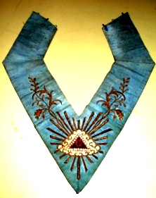 masonic collar (sautoir) that once belonged to Bérenger Saunière