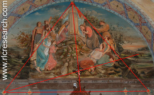 fresco triangle