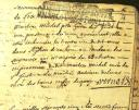 Death Certificate of Anne Delsol from the Parish register 1725-1781