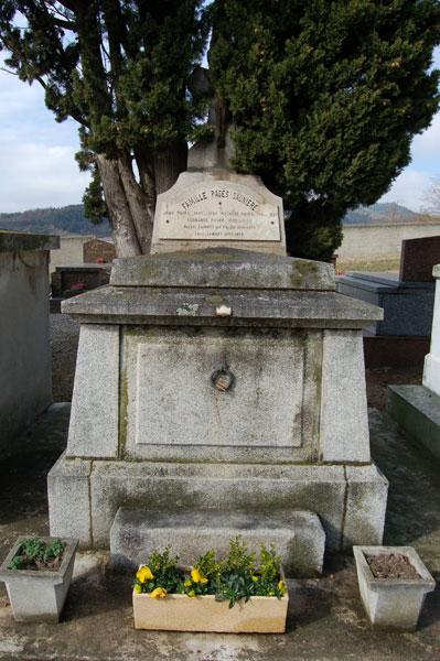 Tomb of Mathilde Saunière-Pagés