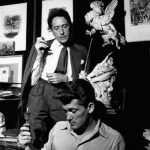 Jean Cocteau and his muse, the French actor Jean Marais in 1944
