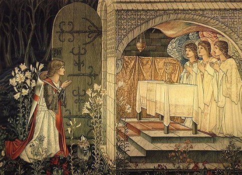 The Grail in the Arthurian legends