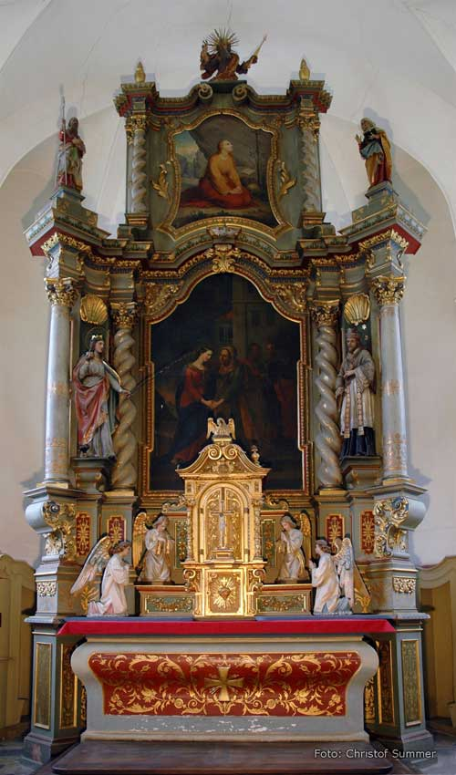 Altar Panel of Nofelt church, Austria