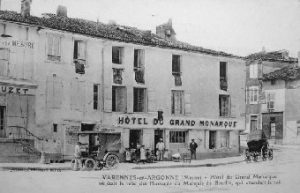 Hotel du Grand Monarque, Varennes