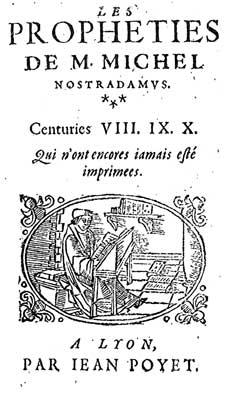 Cover of Nostradamus Centuries VIII, IX and X