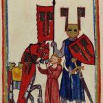 Wolfram von Eschenbach, codex Manesse