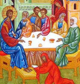 Jesus in Bethany