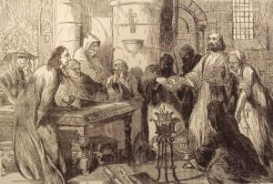 Interrogation Of Jacques De Molay