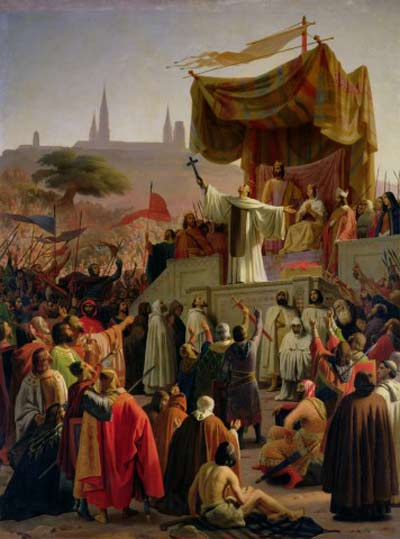 St. Bernard of Clairveaux preaching the 2nd Crusade