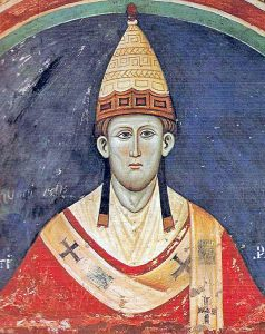 Pope Innocent III who proclaimed the Albigensean Crusade in 1208