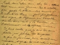 3rd page of the 1910 letter of Abbé Rouanet of Bagès-les-Flots to Saunière