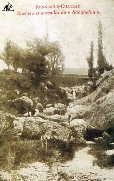 Saunière's 33 postcards of Rennes-le-Château and the historical notice
