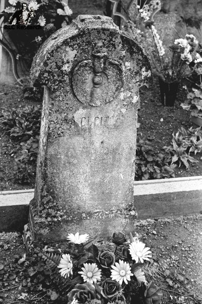 Anonymous tomb stone whispered to belong to the illigitemate son of Richard Wagner and a local girl