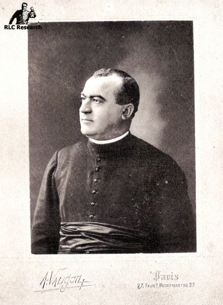 Alfred Saunière, photo was made in Paris