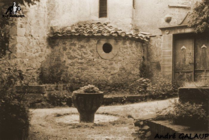 Church Baptismal Font ©André Galaup