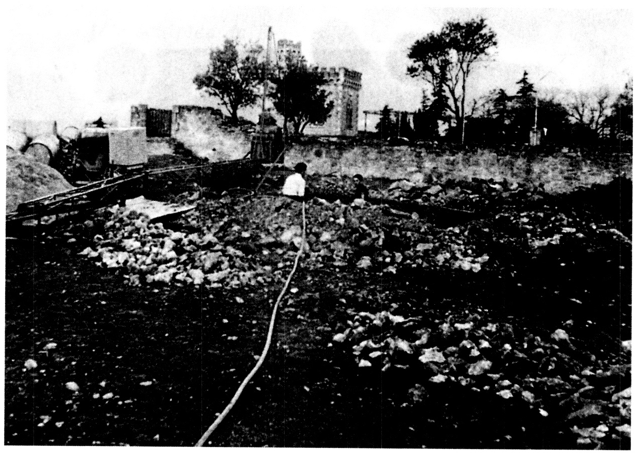 Rennes-le-Château, ground penetrating radar soundings in 1960
