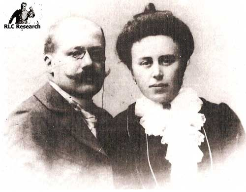 Marie Dénarnaud and her father Charles