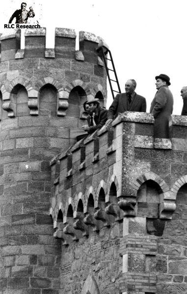 President François Mitterand visits Rennes-le-Château
