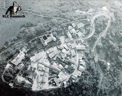 Early aerial photo of Rennes-le-Château