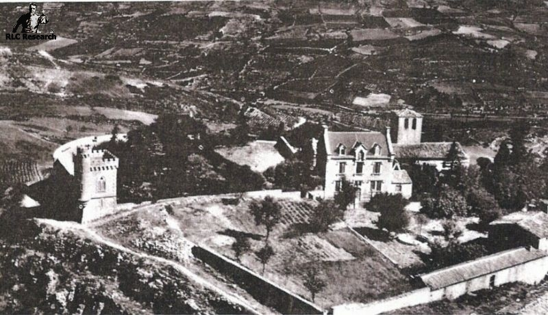 Early aerial photo