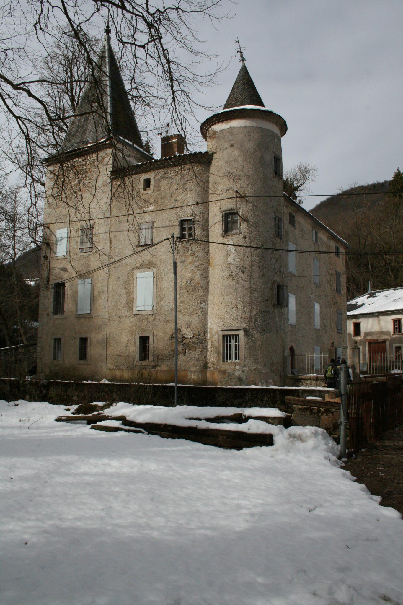 Château de Niort, where Marie de Nègre was born