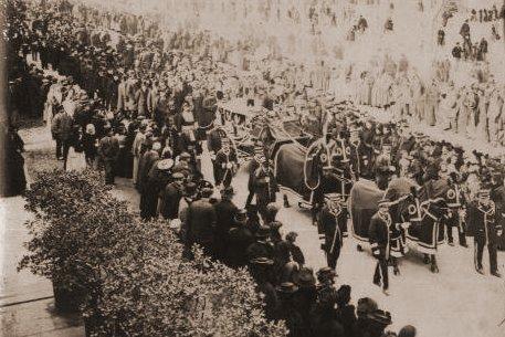 Burial of Monseigneur Billard