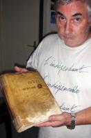 André Douzet, showing the Courtade document