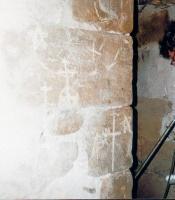 Templar Graffiti in the Château of Bugarach