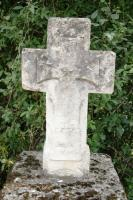 the Cross on Louis de Coma's tomb