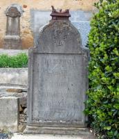 Tombstone of Jean Vié
