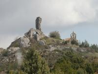 the ruined village of Perillos