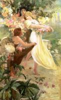 Spirit of Spring, Alphonse Mucha