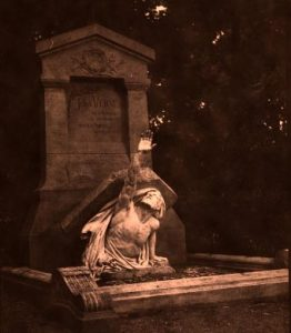 Tomb of Jules Verne in Amiens