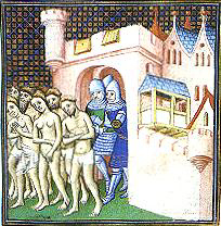 Cathars expelled during the Albigensean Crusade
