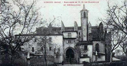 The Sanctuary of Notre Dame de Marceille in Limoux, Aude