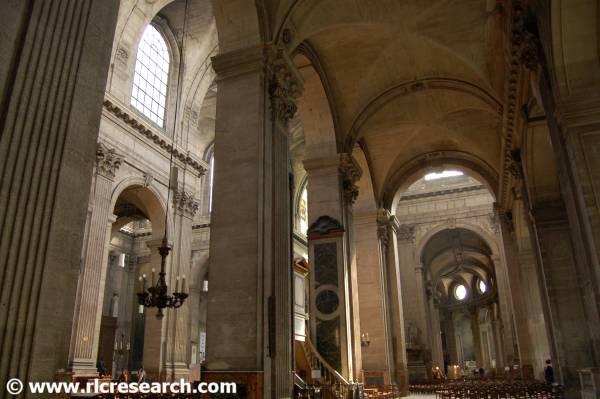 St. Sulpice interior