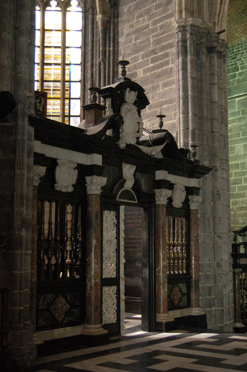 the Vijd Chapel in St. Bavo's cathedral, Ghent