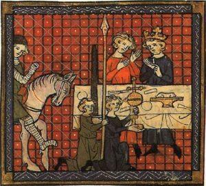 Chrétien de Troyes La Lance qui saigne et le Graal