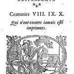 Cover of Nostradamus Centuries VIII, IX and X